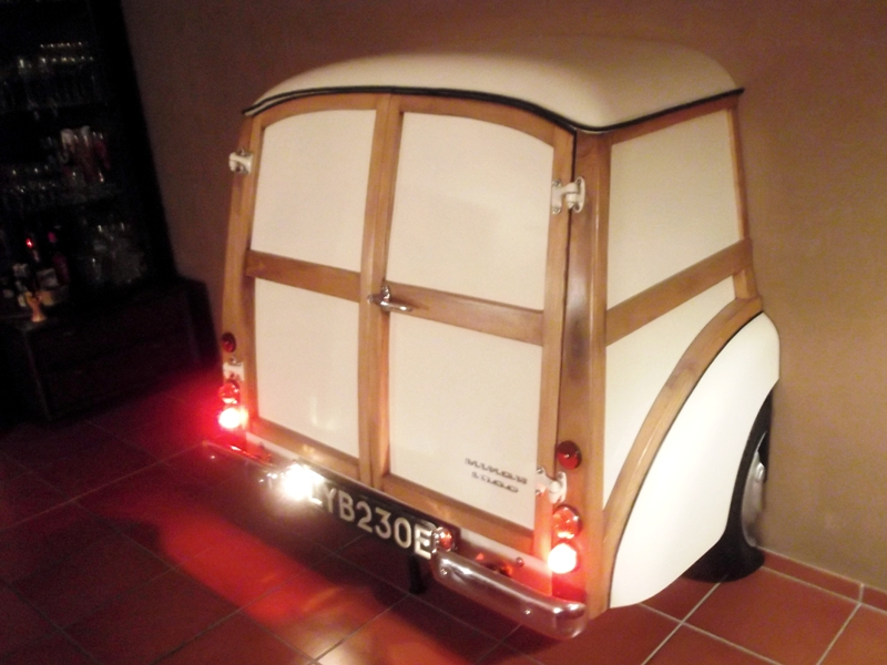 Morris Minor Traveller TV/Audio cabinet
